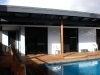 Deck pool area